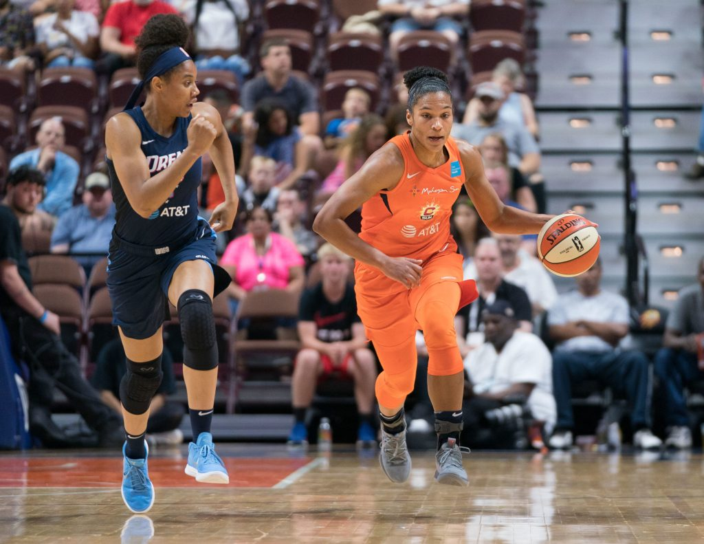 Nia Coffey to bring shooting and defense to the Sparks