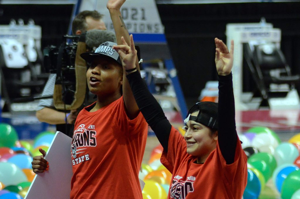 With second straight ACC title, N.C. State shakes up women's basketball 'pecking order'