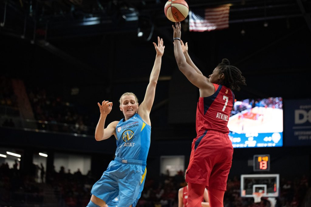 Ariel Atkins isn't the Washington Mystics' biggest name, but she could be their most important player