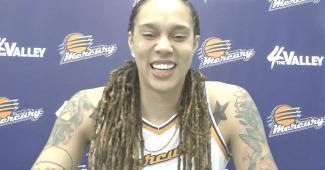 Brittney Griner. (Screenshot via WNBA Media Central)