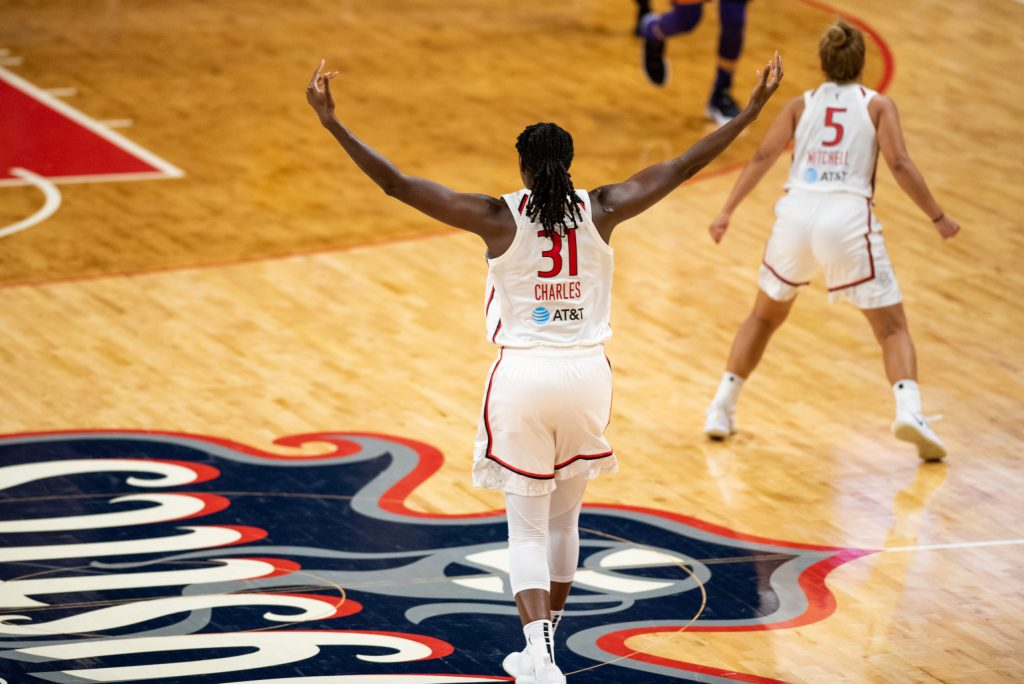 'Play your way': Tina Charles unleashes 34 points on her former team
