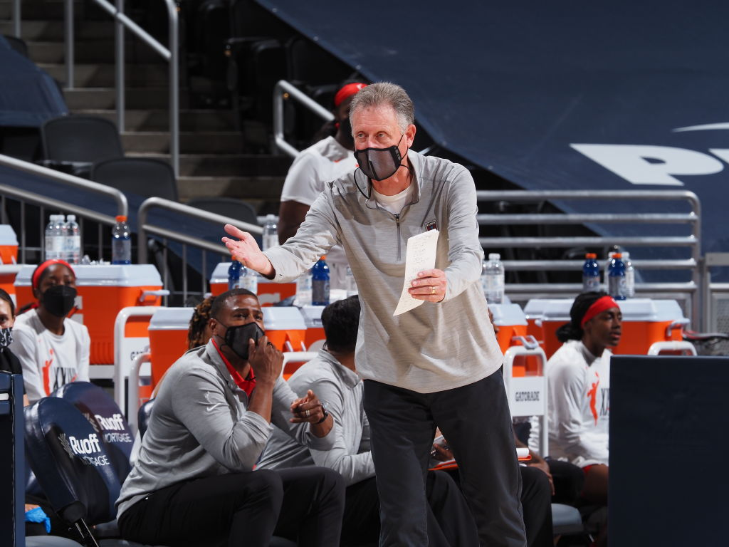Atlanta Dream interim coach Mike Petersen steps down for health reasons