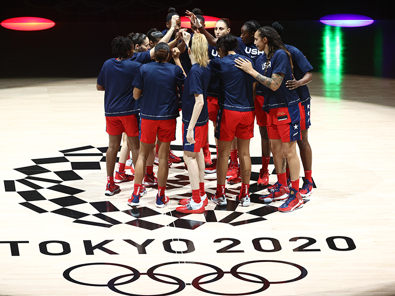 Two wins from gold: How the U.S. is coming together