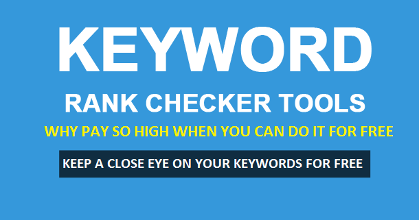 Free keyword rank checker tool: Monitor search engine positions for free