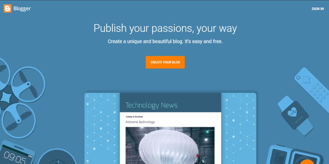 create a free blog on blogspot - blogger