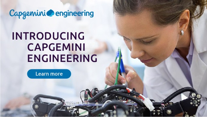 Capgemini Connects its Engineering to R&D with the Launch of 'Capgemini Engineering'