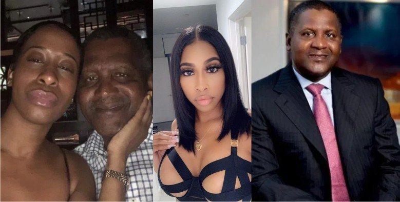 """Résultat de recherche d'images pour """"dangote, nigeria, ex girlfriend"""""""