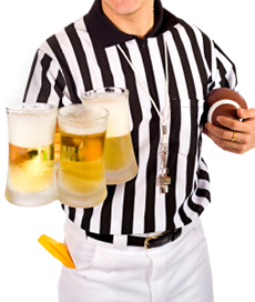 party referee?