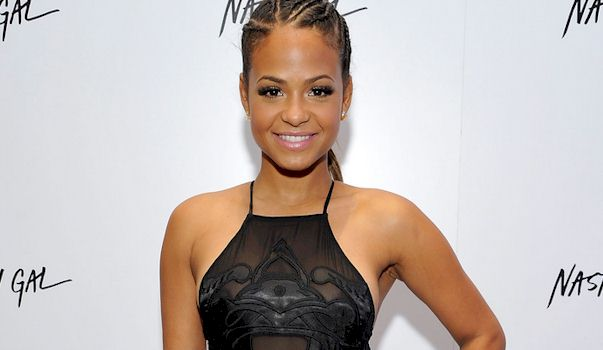 Christina Milian See Through Nip Slip