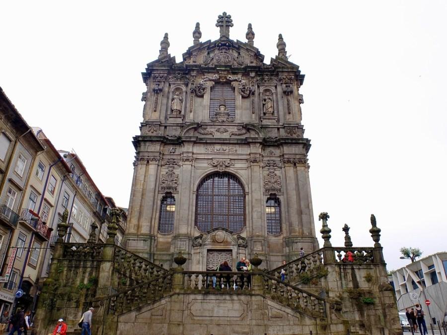 clerigos church in Porto