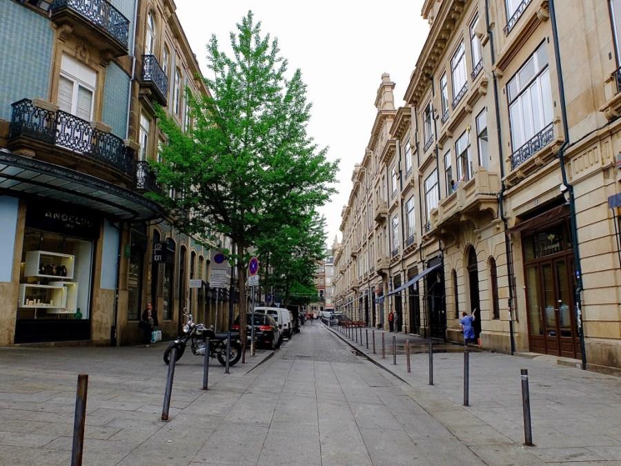 city street in Porto