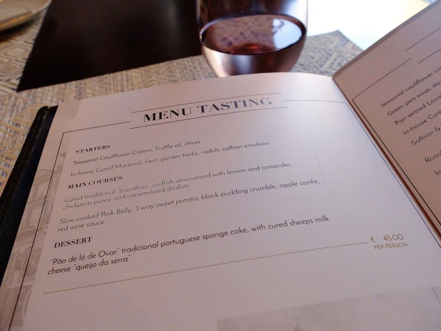 astoria restaurant tasting menu