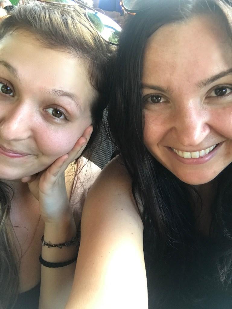 women selfie