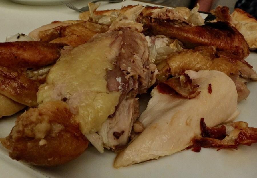 Whole chicken at Le Coq Rico