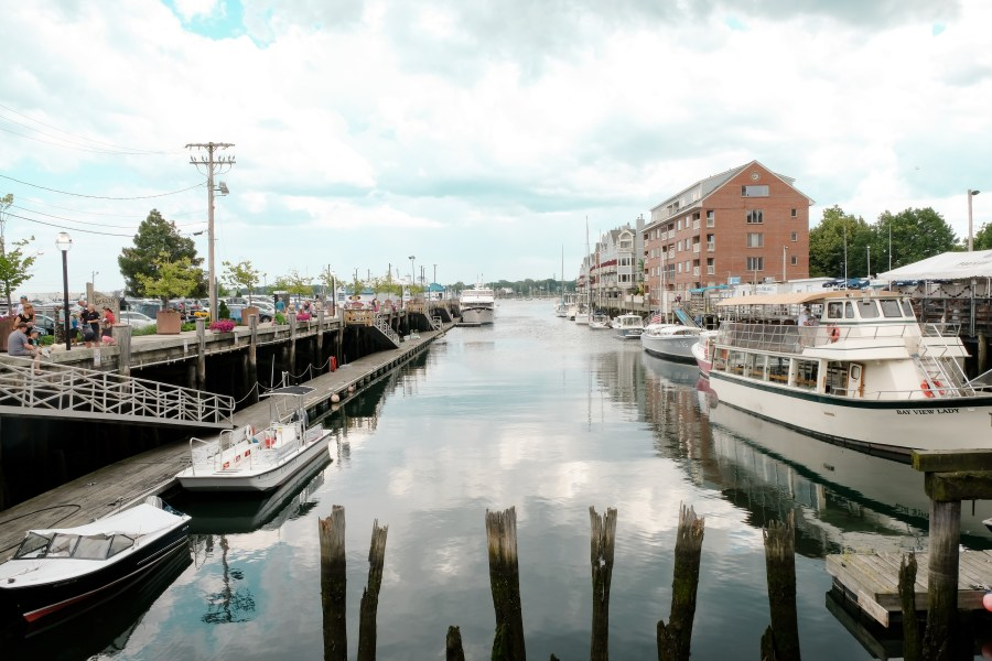 port in downtown portland, maine