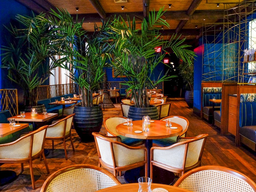 dining room at polynesian in new york