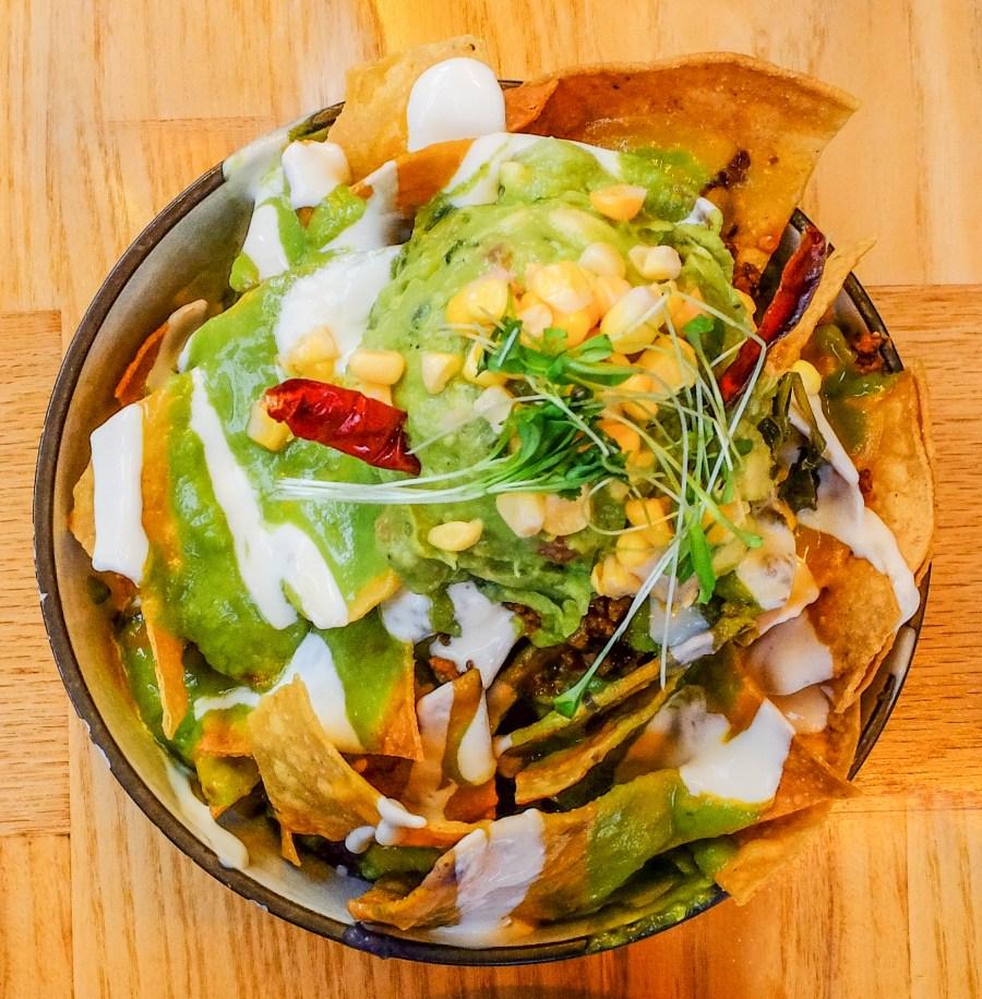 plant based nachos