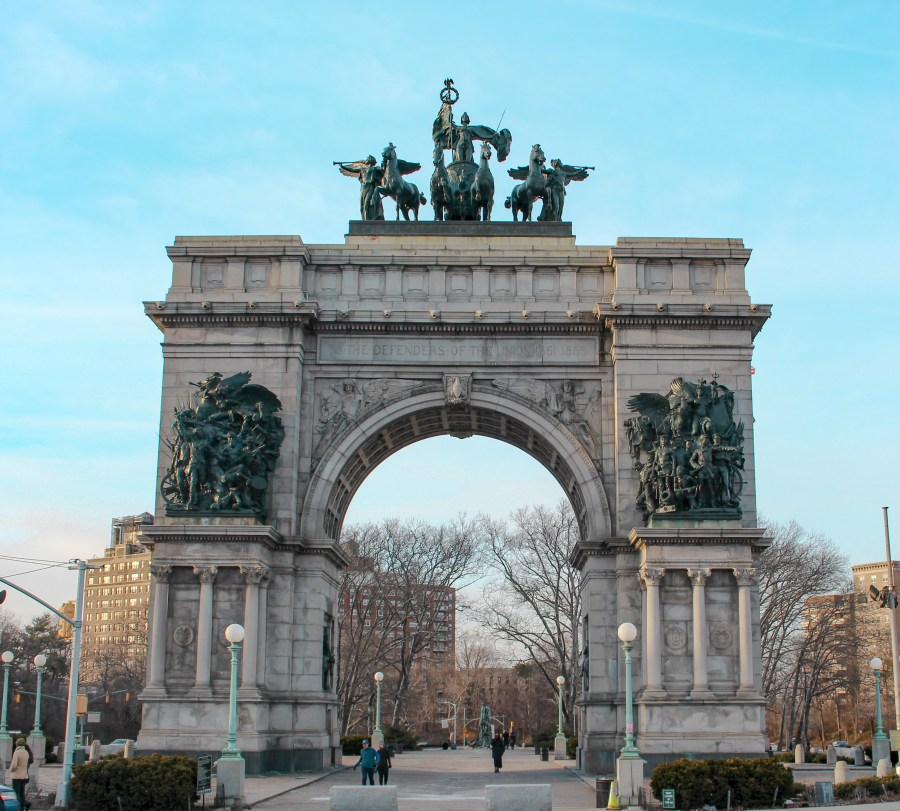 Grand Army Plaza arch in Prospect Park