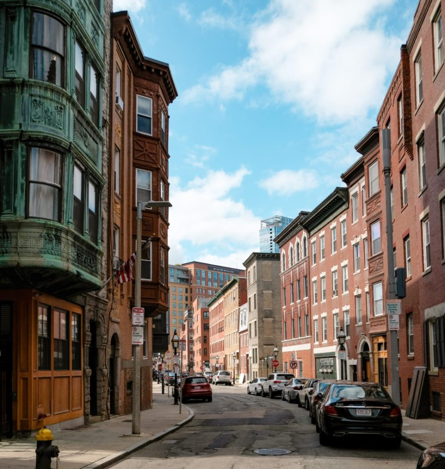 Street in the North End of Boston