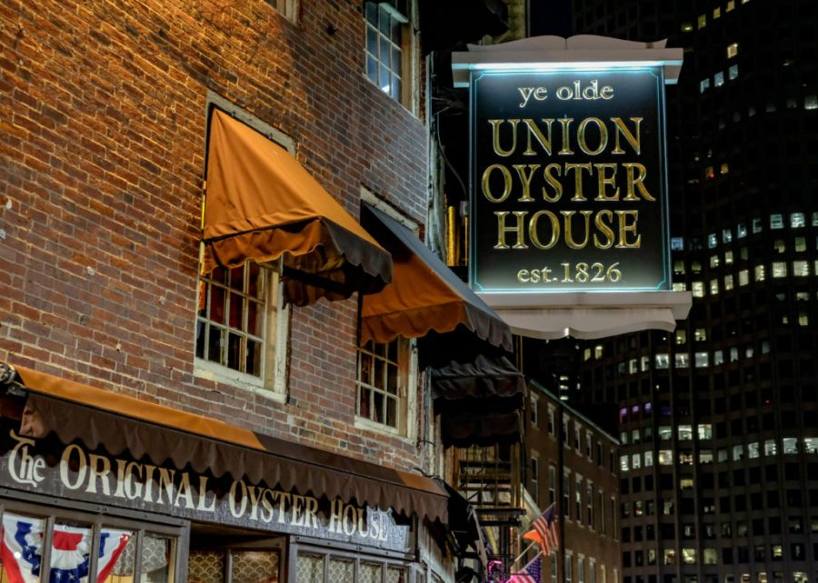 Exterior of Union Oyster House in Boston