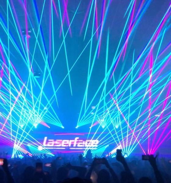 laserface, gareth emery, laserface Miami