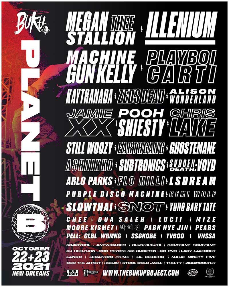 BUKU: Project B Festival Debut Announced; MGK, ILLENIUM, Alison Wonderland, Jamie xx Among Lineup