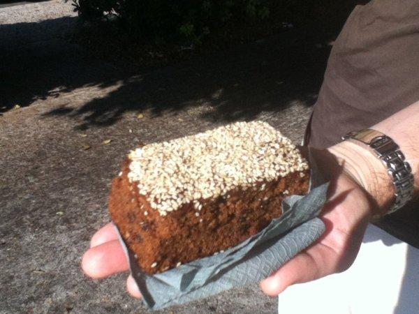 Vegan cake in Rhodes