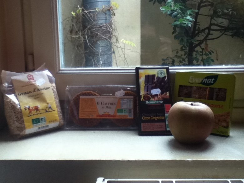 Health store goodies! - vegan in Normandy