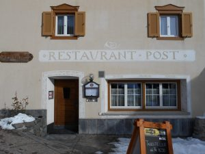 Restaurant Post, Surava, Graubunden, Switzerland