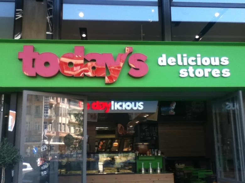 Today's delicious stores, Thessaloniki, Greece
