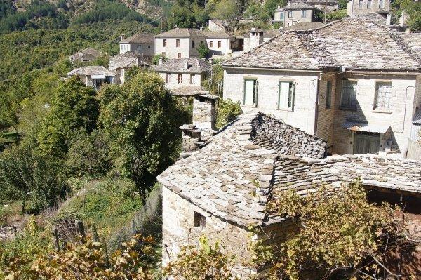 The beautiful village of Mikro Papingo, Greece