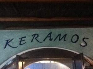 Keramos restaurant in Loutro, Crete