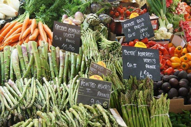 Vegan travel - Toulouse produce market
