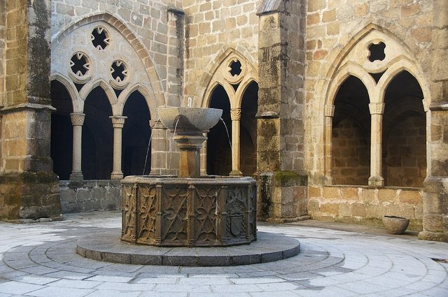 13th-Centry Cloisters in the Old Cathedral of Plasencia