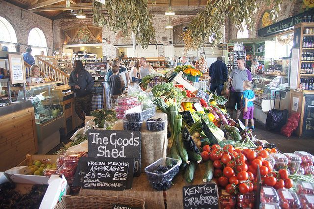 The Goods Shed - vegan travel in Canterbury