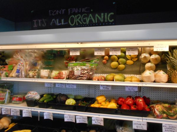 Don't panic, it's all organic at Virginia's Health Foods
