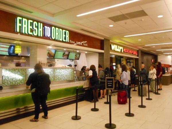 Fresh to Order - vegan food in the Atlanta Airport