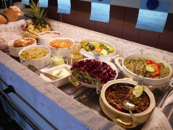 Vegan brunch at Harvest Café in Vienna, Austria - vegan travel
