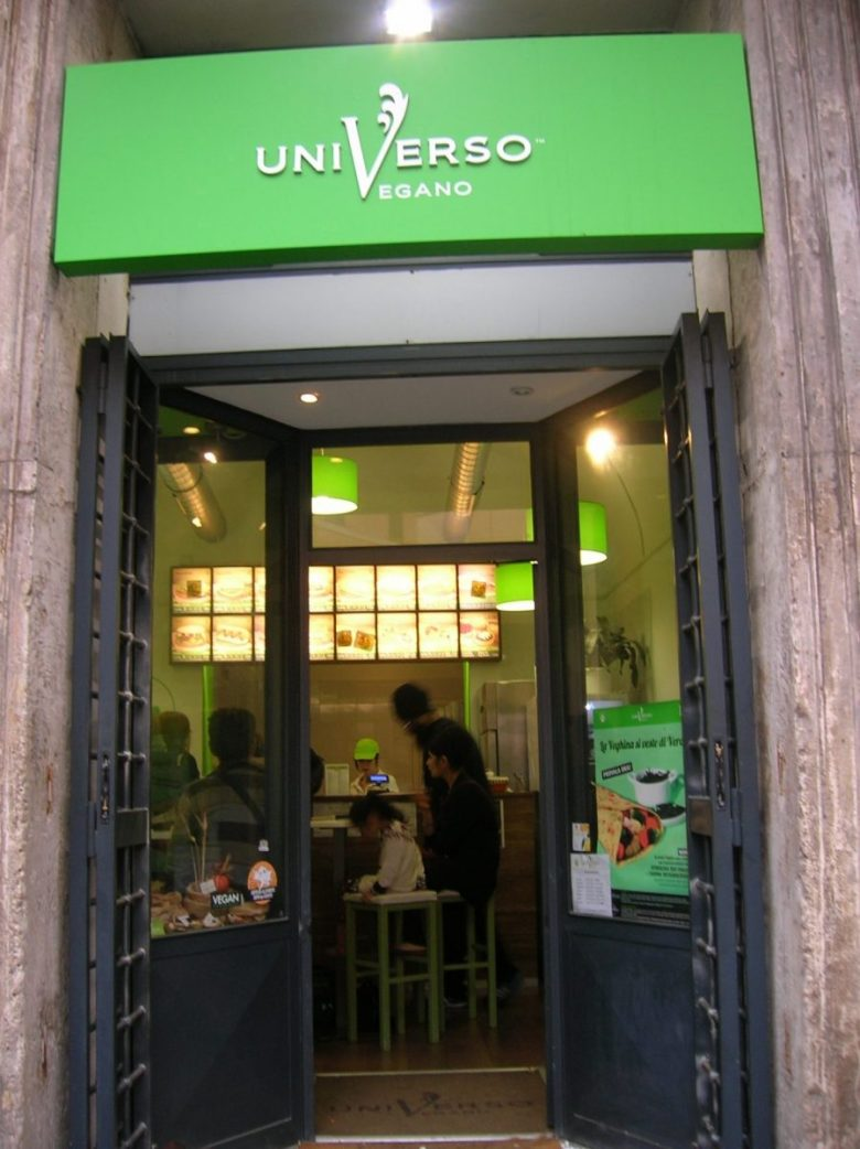 Universo Vegano - vegan fast food in Italy