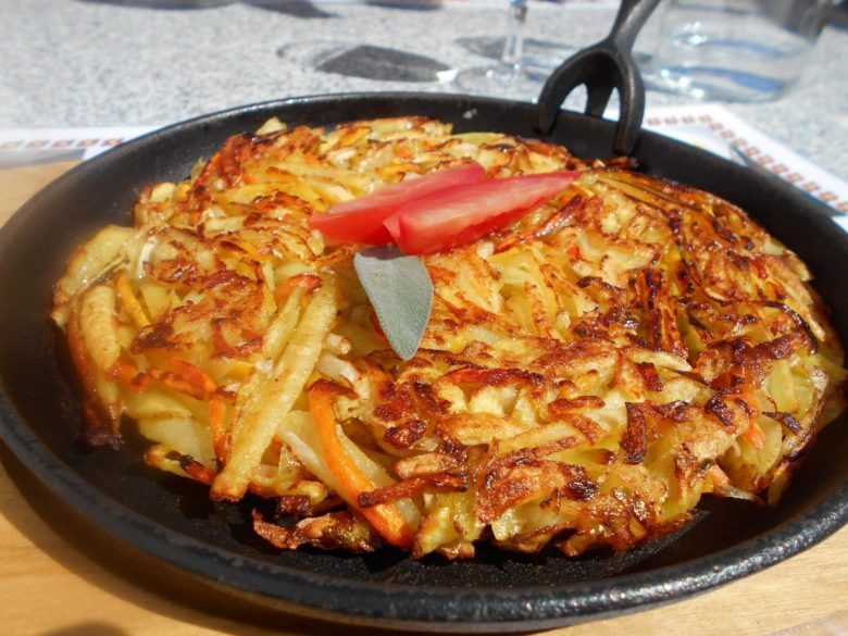 Rosti - vegan in Switzerland