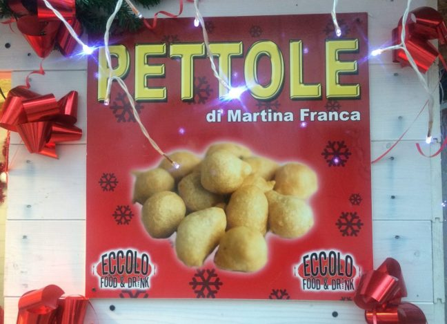 Pettole - vegan street food in Italy