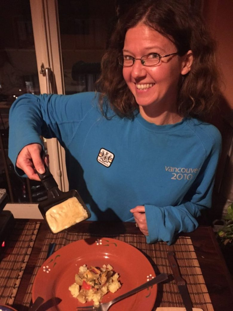 Raclette - vegan in Switzerland