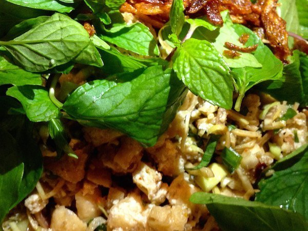 7-Tofu Laab - vegan in Southeast Asia