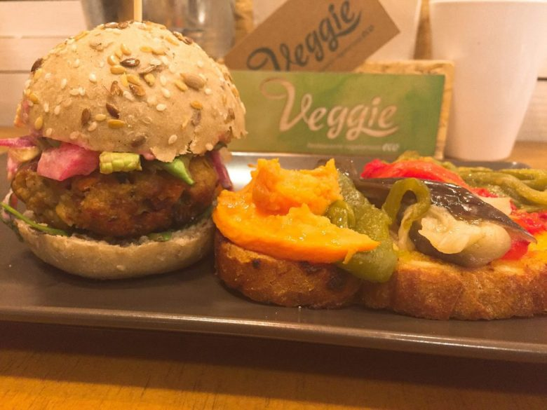 Vegan tapas at Veggie in Zaragoza, Spain - vegan travel