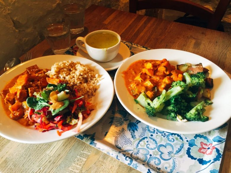 Vaults and Garden - vegan May Morning in Oxford