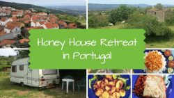 Honey House Retreat in Portugal - vegan travel
