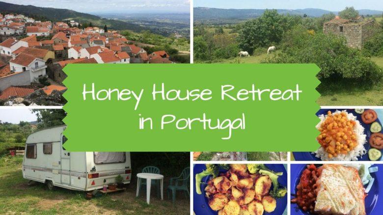 Honey House Retreat in Portugal - vegan travel