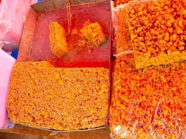 Local snacks make great hiking food - Living The China Study