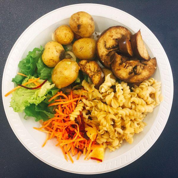 Workforce vegan food - Rio 2016 - Vegan Stories