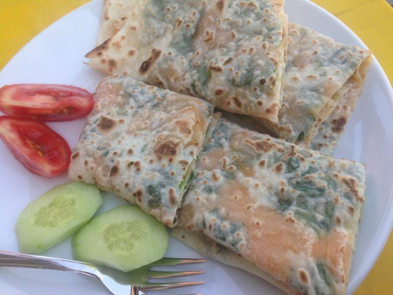 Gözleme - how to be vegan in Turkey